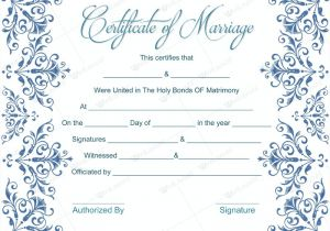 Fake Marriage Certificate Template Fake Marriage Certificate Template Dotxes