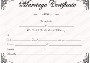 Fake Marriage Certificate Template Fake Marriage Certificate Template Foto Bugil Bokep 2017