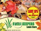 Fall Clean Up Flyer Template I Need some Help Gopherhaul Landscaping Lawn Care