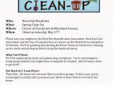 Fall Clean Up Flyer Template Neighborhood Clean Up Flyer Template Google Search Won