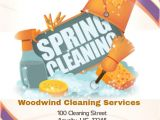 Fall Clean Up Flyer Template Spring Cleaning Service Flyer Template Postermywall