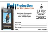 Fall Protection Certification Template Fall Protection Certification Template Best and