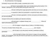 Family Behavior Contract Template 12 Sample Behavior Contract Templates Word Pages Docs