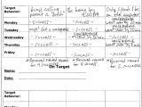Family Behavior Contract Template Below is An Example Of A Behavior Contract