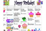 Family Birthday Calendar Template Birthday Calendar 7 Free Word Pdf Psd Documents