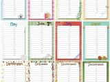 Family Birthday Calendar Template Family Birthday Calendar Printable Free Perpetual