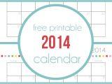 Family Calendar Template 2014 Free Printable 2014 Calendar I Heart Nap Time