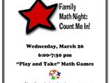 Family Reading Night Flyer Template Crocker Farm Pgo Family Math Night Wed March 26th