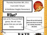 Family Reading Night Flyer Template Math Night Flyer December 8th Mcmicken Heights