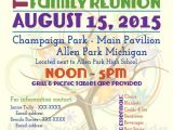 Family Reunion Flyer Template Family Reunion Flyer Tree Of Life by Jmrcreativedesign