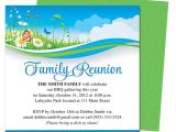 Family Reunion Flyer Template Free Summer Breeze Family Reunion Party Invitation Templates