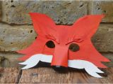 Fantastic Mr Fox Mask Template Fantastic Mr Fox Diy Mask for World Book Day Party