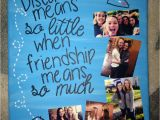 Farewell Card for Best Friend Distance Canvas for A Friend with Images Birthday Diy