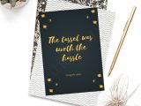 Farewell Greeting Card for Colleague Printable Graduation Card Graduation Greeting Card High