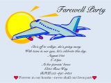 Farewell Invitation Card for Students Going Away Party Invitations New Selections Summer 2020