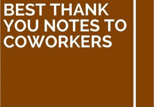 Farewell Message for Coworker Card 13 Best Thank You Notes to Coworkers with Images Best