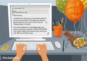 Farewell Message for Coworker Card Goodbye Letter Examples when Leaving A Job