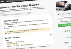 Fashion Designer Contract Template 5 Essential Contract Templates for the Freelance Designer