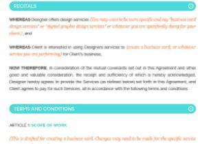 Fashion Designer Contract Template Fashion Designer Contract Template Google Search Logo