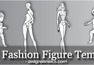 Fashion Designing Templates Free Download Free Fashion Croquis 120 Fashion Figure Templates