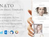 Fashion Email Templates Minato Fashion Email Template Builder Access by Eeemon