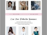 Fashion Email Templates Summer Fashion E Mail Template Email Templates On