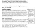 Fashion Line Business Plan Template Clothing Line Business Plan Template Free Free Business