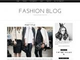 Fashion Templates for Blogger Fashion Blog Blogger Template Mobile Responsive Minimal