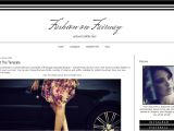 Fashion Templates for Blogger Fashion Blogger Template Black and White