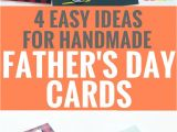 Fathers Day Greeting Card Handmade 4 Easy Handmade Father S Day Card Ideas Fathers Day Cards