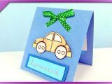 Fathers Day Greeting Card Handmade Diy First Birthday Invitation Card Eng Subtitles Speed Up 251