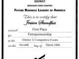 Fbla Job Interview Resume Example References to My Resume Fbla Chapter President School