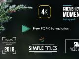 Fcpx Title Templates Freebies Simple Video Making