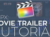 Fcpx Trailer Templates Rampant Movie Trailer 01 Fcpx Library Template Tutorial