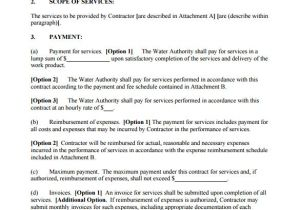 Fee for Service Contract Template 16 Service Contract Templates Word Pages Google Docs