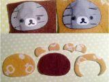 Felt Plushie Templates Felt Tutorial Rilakkuma Plushie Craft Candies