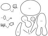 Felt Plushie Templates How to Make A Gloomy Bear Plushie From Felt Tutorial