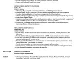 Field Engineer Resume Resume Service Engineer Stealth Services and
