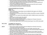 Field Engineer Resume Senior Premier Field Engineer Resume Samples Velvet Jobs