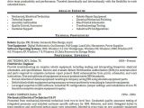 Field Service Engineer Resume Field Service Engineer Resume Example