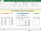 Fifo Spreadsheet Template Fifo Inventory Valuation In Excel Using Data Tables