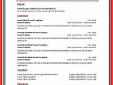 Fillable Resume Template Resume Template Microsoft Apa Example