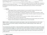 Film Director Contract Template Sample Deal Memo Contract Lamoureph Blog