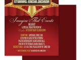 Film Premiere Invitation Template Printable Film Premiere Invitation Template Free