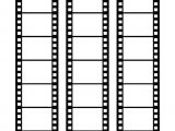 Film Strip Picture Template Blank Film Strip Template for A Photo Collage or Movie Poster