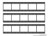 Film Strip Picture Template Tim Van De Vall Comics Printables for Kids