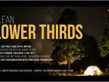 Final Cut Pro Lower Thirds Templates Gold Clean Lower Thirds for Final Cut Pro X by