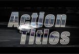 Final Cut Title Templates Action Titles