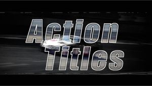 Final Cut Title Templates Action Titles