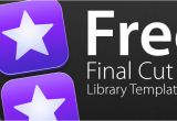 Final Cut Title Templates Free Final Cut Pro X Library Template Sam Woodhall